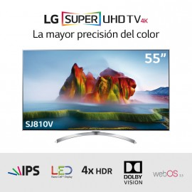 "TV LED SUPER UHD 4K con Nanocell 55"" HDRx4"