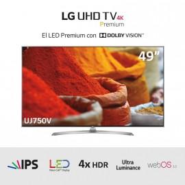 "TV LED Ultra HD 4K 49"" HDRx4"