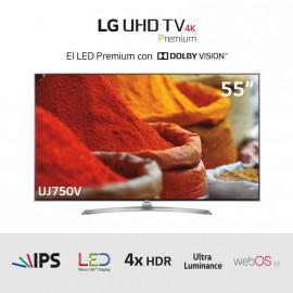 "TV LED Ultra HD 4K 55 HDRx4"""