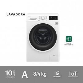 Lavadora secadora 8/4kg A blanca