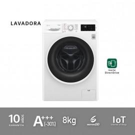 Lavadora A+++ (-30%) de 8kg con SmartTHINQ