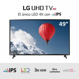 "TV LED Ultra HD 4K 49"" HDRx3"