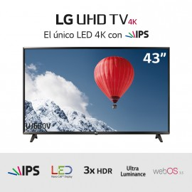 "TV LED Ultra HD 4K 43"" HDRx3"