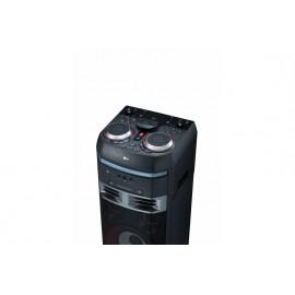 Equipo de alto voltaje con 1000W de potencia, Bluetooth,  funciones DJ
