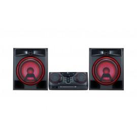 Microcadena con 700W de potencia, Bluetooth, y funciones DJ