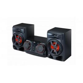 Microcadena con 300W de potencia, Bluetooth, y funciones DJ