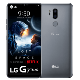 LG G7 ThinQ Supera la realidad PLATA