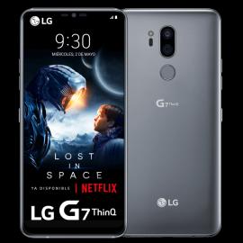 LG G7 ThinQ Supera la realidad PLATA
