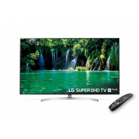 LG SUPER UHD Nano Cell TV 4K con Inteligencia Artificial, Procesador α7, 100% HDR, Dolby Vision/Atmos
