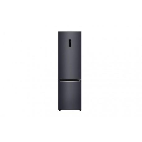 Frigorífico Combi LG Serie 7 , 2m, acero negro mate antihuellas