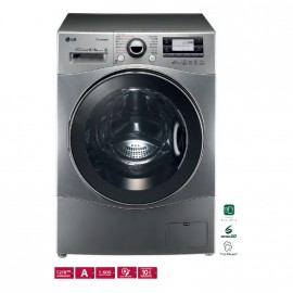 Lavasecadora LG, Serie 12 con Vapor – 12/8 kg de capacidad , 1600RPM Eficiencia energética A