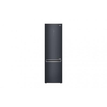 Frigorífico Combi LG Serie Centum, 2m, acero negro mate antihuellas