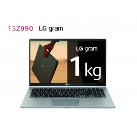 "Portátil LG Gram 15Z990-V. Portátil ultraligero de 39,6cm (15,6"") Windows 10 Home, i7, 8GB, 256GB SSD"