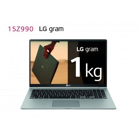 LG Gram 15Z990-G, Windows 10 Home, i7, 8GB, 256GB SSD