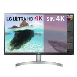 Monitor LG  UHD 4K 68,6cm (27 pulgadas) blanco