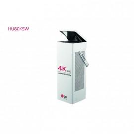 "Outlet Proyector 4K HU80KSW - LG CineBeam con SmartTV webOS 3.5 (hasta 150"", fuente láser, 2.500 lúmenes, 3840 x 2160, Blanco)"