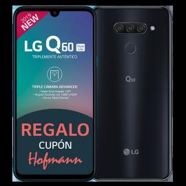 LG Q60 Triple CAM Negro