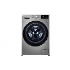 LG Lavadora inteligente 9kg, 1400rpm, A+++(-40%), Inox Antihuellas, Serie 7