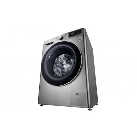 LG Lavadora inteligente 8Kg, 1400rpm, A+++ (-40%), Inox antihuellas, Serie 5