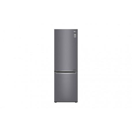 Frigorífico Combi LG , 1,86m, A+++, capacidad de 374l, Inox Grafito Antihuellas, serie P