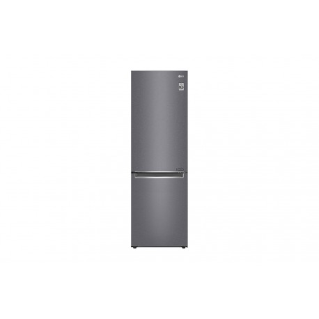 Frigorífico Combi LG, 2,03m, A++, capacidad de 419l, Inox Grafito Antihuellas, serie 3