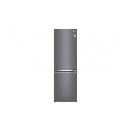 Frigorífico Combi LG  1,86m, A++, capacidad de 374l, Inox Grafito Antihuellas, serie 3
