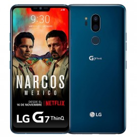 LG G7 ThinQ Supera la realidad AZUL
