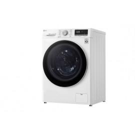 Lavadora LG inteligente 9kg, 1400rpm, A+++(-30%), Blanca, Serie 4