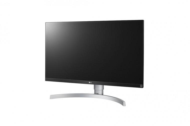 "Monitor LG 4K de 68,4 cm (27"") 3840 x 2160 (UHD) con panel IPS 16:9"