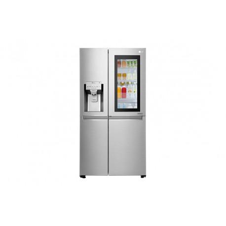 Frigorífico LG GSX960NSVZ, Instaview Door-in-Door, 1,79m, A++, capacidad de 601l, Acero Antihuellas