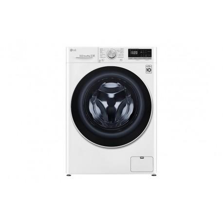Lavadora LG inteligente 8kg, 1400rpm, A+++(-40%), Blanca, Serie 4