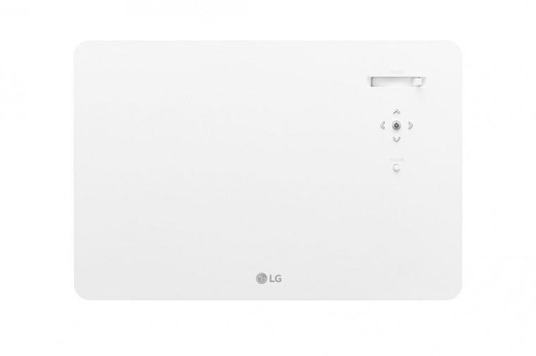 "Proyector TV 4K - LG CineBeam con SmartTV webOS 4.5 (hasta 140"", fuente LED 4 Canales, 1.500 lúmenes, 3840 x 2160)"