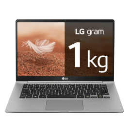 "Portátil LG Gram Windows 10 Home, i5, 8 GB, 512GB SSD ultraligero de 35,5cm (14,0"") FHD IPS, 1kg, autonomía 23,5h"