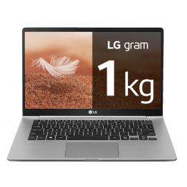"Portátil LG Gram Windows 10 Home, i7, 8 GB, 256 GB SSD  ultraligero de 35,5cm (14,0"") FHD IPS 1kg, autonomía 23,5h"