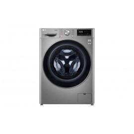 Lavasecadora LG inteligente F4DN408S2T 8/5kg, 1400rpm, A, Inox Antihuellas, Serie 4