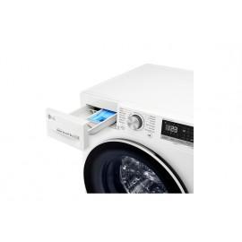 Lavasecadora LG inteligente 8/5kg, 1400rpm, A, Blanca, Serie 4