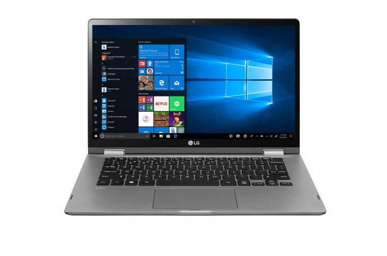 Portatil LG Gram 14T90N-VAA78B Windows 10 Home+ - Convertible 2 en 1 ultraligero de 35,5cm (14'')