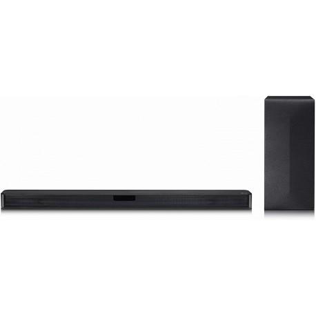 LG SL4Y Altavoz soundbar 2.1 Canales 300 W Negro - Barra de Sonido