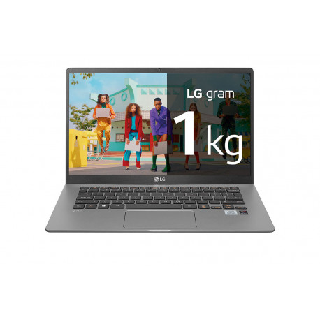 Portatil LG Gram 15Z90N-VAA78B Windows 10 Home+ - Portátil ultraligero de 39,6cm (15'')
