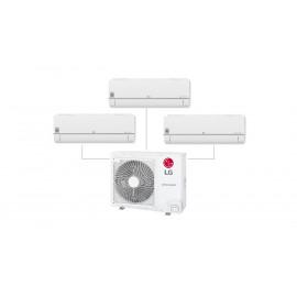 Conjunto 3x1 Inverter R32 2x 2200frig 1x3000frig Color Blanco WIFI