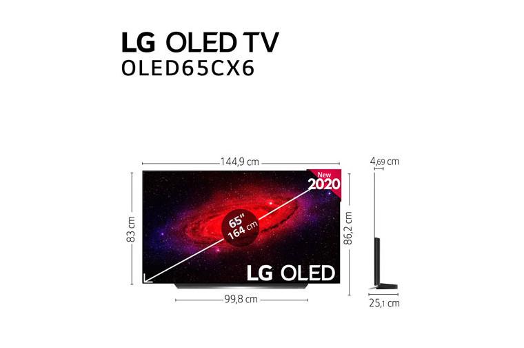 "LG OLED TV 4K 164cm (65"") Smart TV"