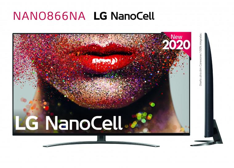 "LG NanoCell 4K 139cm (55"") Local Dimming Smart TV"
