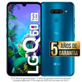 LG Q60 Triple CAM Azul