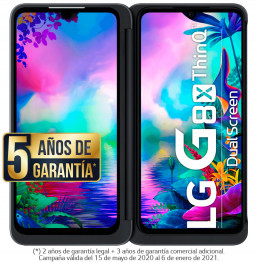 Outlet LG G8X ThinQ Smartphone Dual Screen