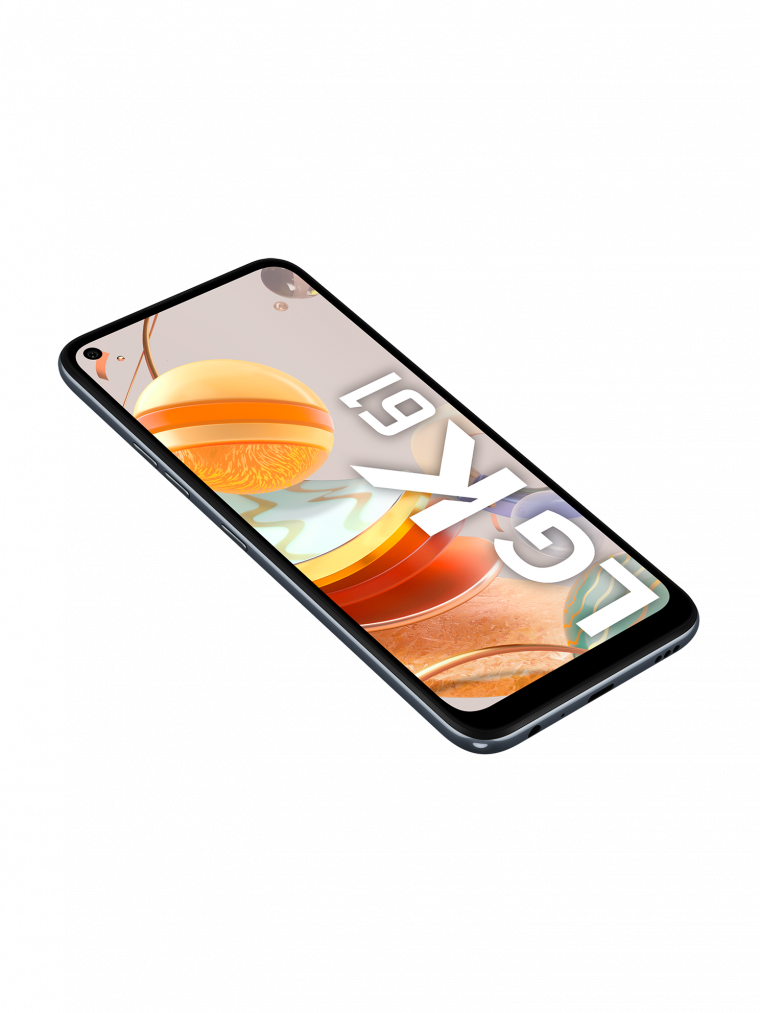 """LG K61 Quad CAM con Pantalla FullVision 6.53"""" (16,6cm)"""