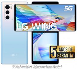 LG WING Azul