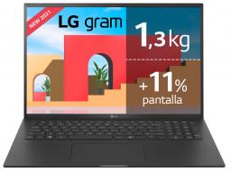 "LG Gram - Portátil ultraligero de 43,2cm (17"") WQXGA 16:10 IPS"